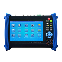 7.0-inch TFT LCD CCTV installation tester ,with IPC + Digital Multimeter + Optical Fiber Power Meter + Visual Fault Locator etc