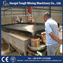 China Mining Expert Gravity Process Plant Supplier with gold separator shaking table for cyanide gold mining panning equipment