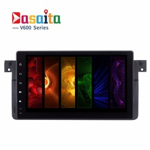 Dasaita 9 inch Android 6.0 car dvd player stereo audio radio Gps navigation for BMW 3 Series E46 M3 Octa core 2+32GB