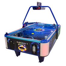 Coin operated electric classic superior universal air hockey table for kids