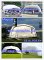 Inflatable exhibition tent inflatable arch tent inflatable tunnel tent