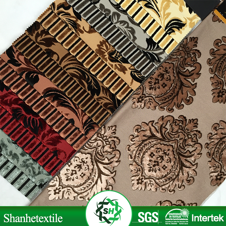 Home Textile Supplier Chinese Classic Sofa Fabric Brocade