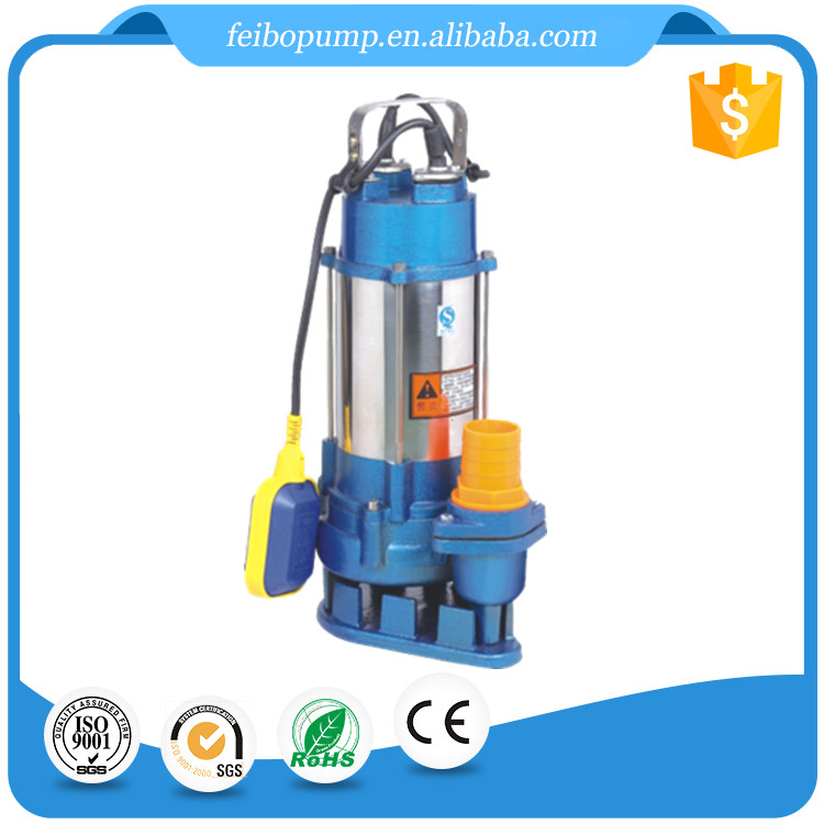 CE Taizhou OEM brand irrigation using wholesale WQD series centrifugal submersible dewatering sewage pump made in China