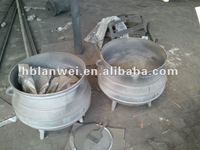 ductile iron Tripod pot
