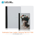 "2015 fashion design pu leather case for Samsung Tab A 9.7"" T550"
