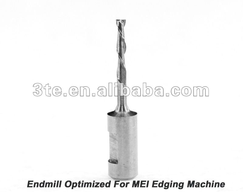 Optical Tungsten Carbide End Mill for MEI Edging Machine