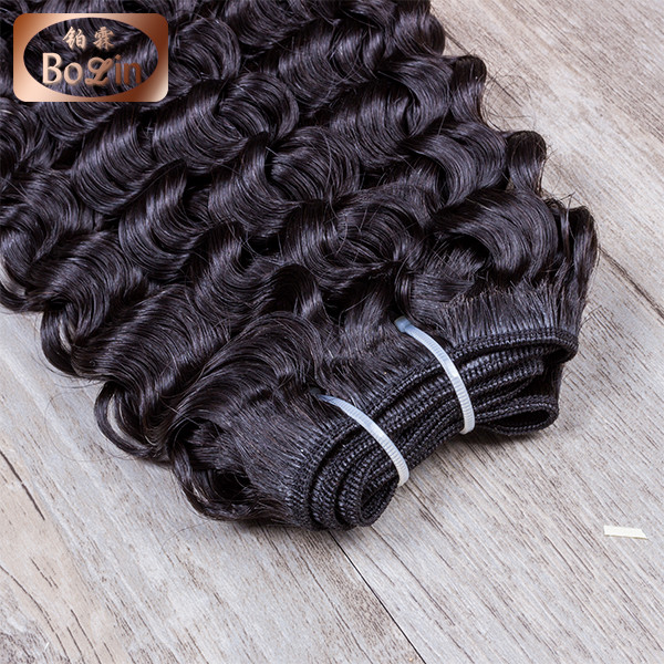 wholesale Mongolian Hair Sew In Hair Weave Grade 8A Virgin Mongolian Deep Curly Hair