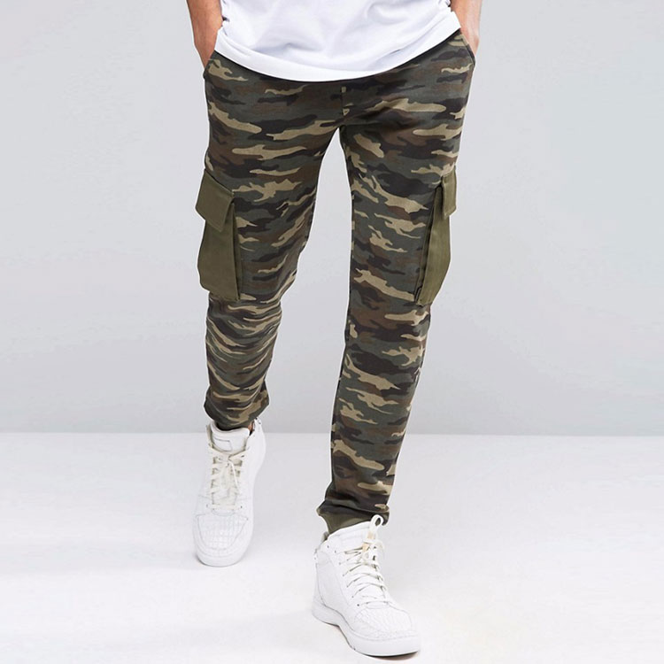 3b6c80f3504 Professional Custom Men Camo Cargo Jogger Pants - Buy Camo Pants ...
