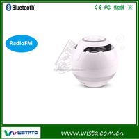 Ball shape portable bluetooth speaker with FM function