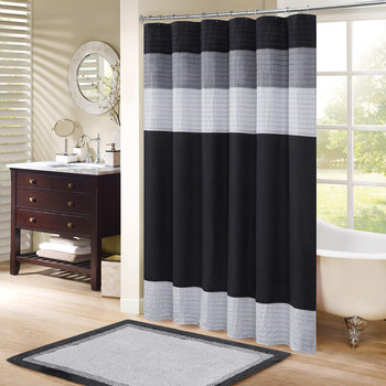 3D Digital Printing Bathroom Shower Curtain, Durable Waterproof Mildew Resistant Shower Curtain