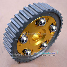 Wholesale adjustable aluminum alloy timing cams racing gears