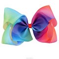 7 Inch Boutique Rainbow Hair Clip For Girls BH1435-1