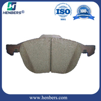 wholesale semi-metal brake pads for MAZDA3/5 3M51-2K021 Auto parts