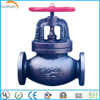Cast Iron Handle Wheel Screw Down Check Globe Valves