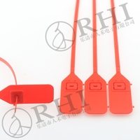 Nylon cable ties / cable tie tag / black plastic cable tie