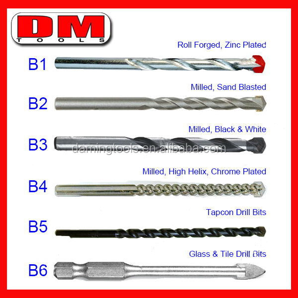 Best quality factory supply cement masonry drill bits