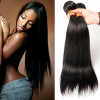 Aliexpress Hair Brazilian Hair Weave 8A Grade Silky Straight Virgin Brazilian Human Hair Extension