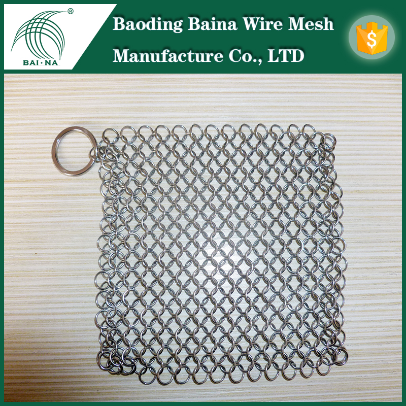 Baina Ring Wire Mesh Kitchen Scrubber Made of Stainless Steel 316