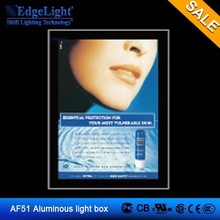 Edgelight Brightest street light advertising light box for shopping mall & airport waterproof