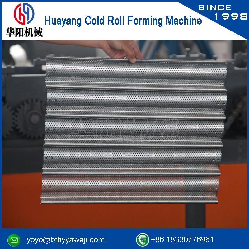 Russia popular drywall roller shutter door forming machinary with CE certificate