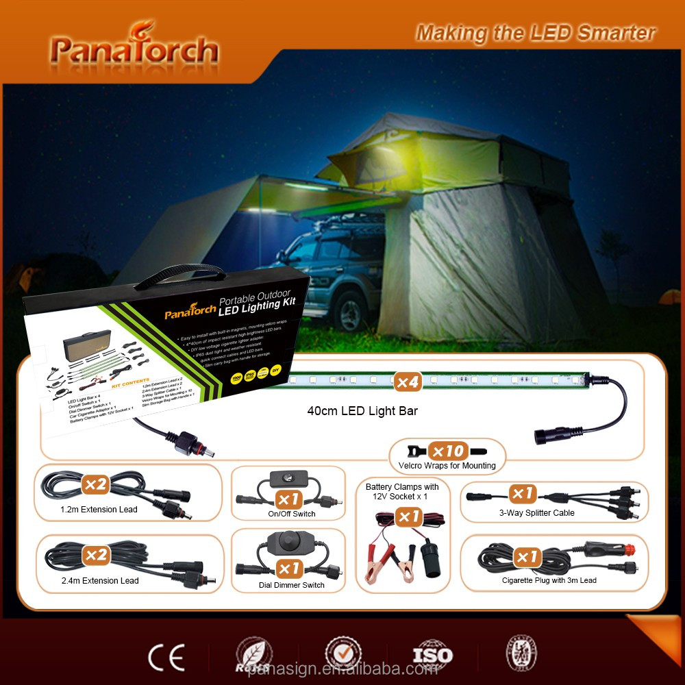 PanaTorch OEM LED Camping Bars PS-C5521E accessories optional with DIY install
