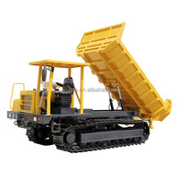Wolwa crawler drive, mini dump truck with track with low price for sale GNYS-6T