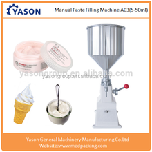Manual Toothpaste filling machine,Cleanser filler machine