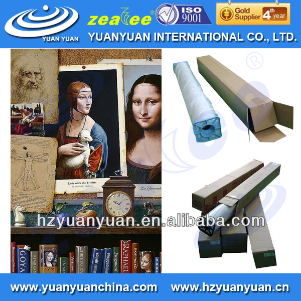 5ECO-280CVM Hot sale! waterproof polyester/cotton art canvas, oil painting canvas, for home decoration