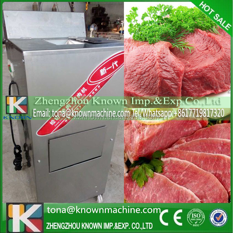 Export EU first quality single beef slice machine price for 20mm beef meat strips