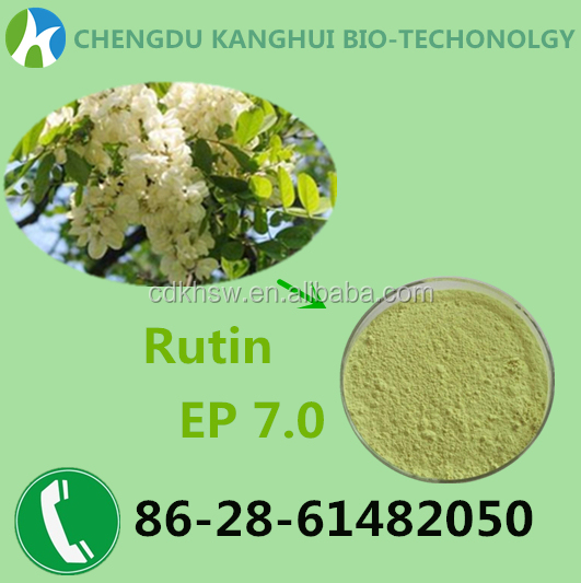 Botanical Extract Powder Rutin EP 7.0 CAS No250249-75-3
