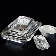FAD Square Disposable Foil Aluminium Food Trays