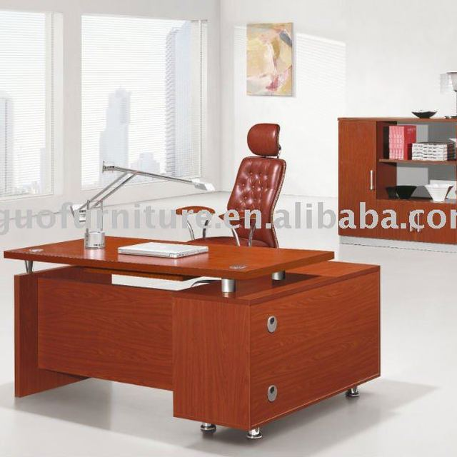 Wooden Modular Office Furniture Managerial Office Desk