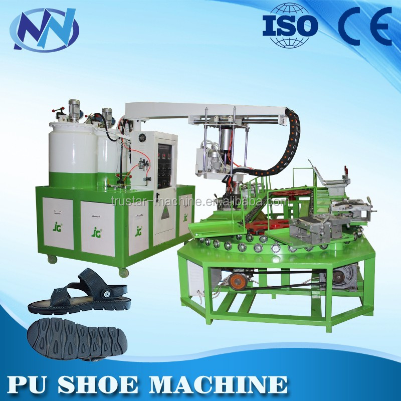 automatic pu shoe injection moulding machine