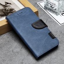 Retro design style and luxury flip mobile phone case leather with magnetic