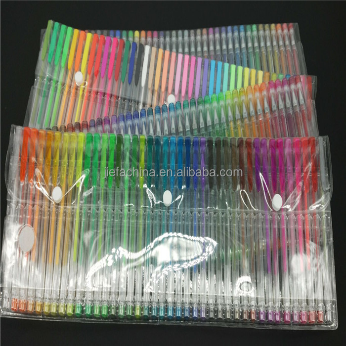 Multicolor Gel Pen Organizer <strong>100</strong>
