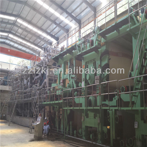 HIgh profitable waste material project, a4 paper production line