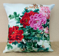 hand silk embroidery pillow-100% Chinese hand silk embroidery