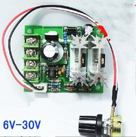 CCM6C 6-30V PWM DC Motor Speed Controller