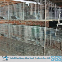 galvanized wire cheap3 tier industrial rabbit cages of bird house
