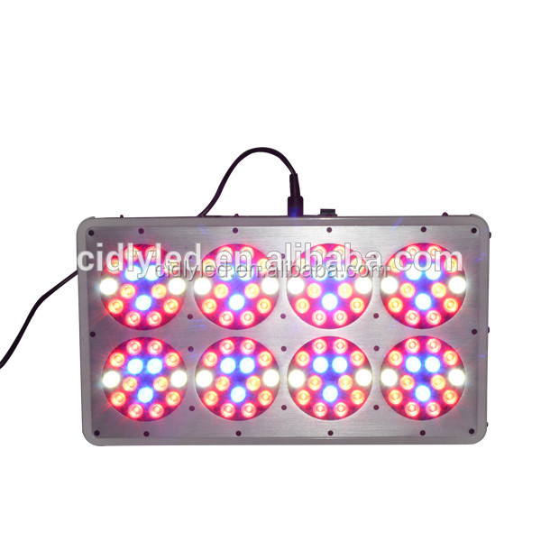 Best equivalent 600w hps grow system lighting coverage 3-4 square ft grow box CIDLY-8 led grow light