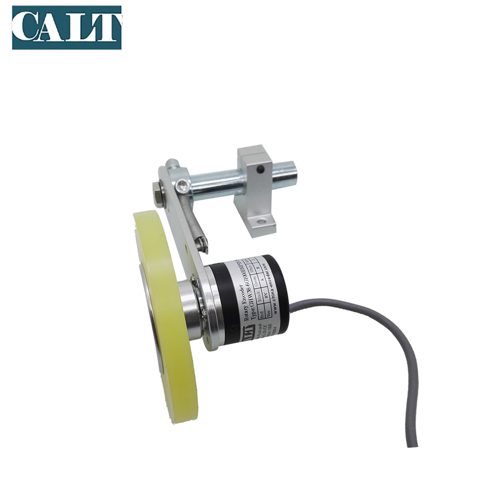 1000ppr pulse push pull DC5V-26V 300mm wheel length measuring meter optical wheel rotary encoder