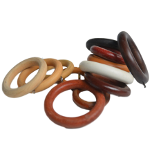 Eyelet Curtain Ring Wood Curtain Rings (not export alone)