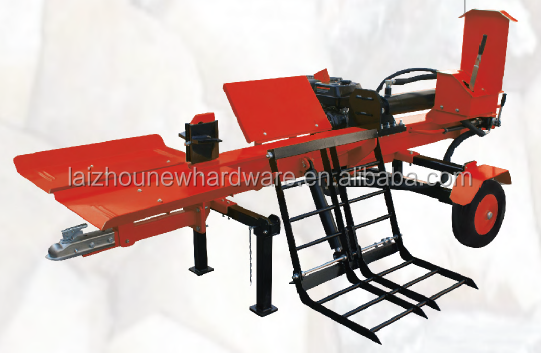 Heavy duty Log Splitter 26T with 1 meter cutting and loading lift