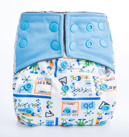 2016 AI2 best selling baby care products modern bamboo velour fitted nappy