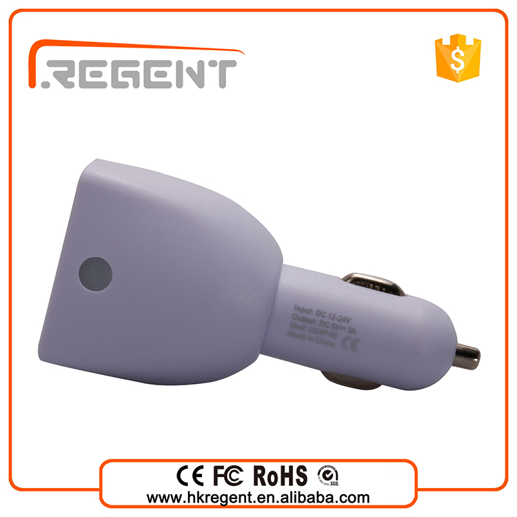 Car Accessories promotional Double Speed Fast Charge ,Car charger