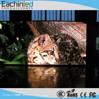 High Definition P8 transparent full color led display screen / led P8 outdoor