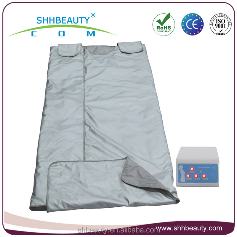 Waterproof PVC advanced far infrared weight loss sauna blanket body slimming