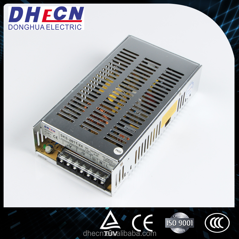 24 Volt Switching Power Supply 220V Ac To 5V Dc Power Supply Led Driver Aluminum Power (HS-201T-24)