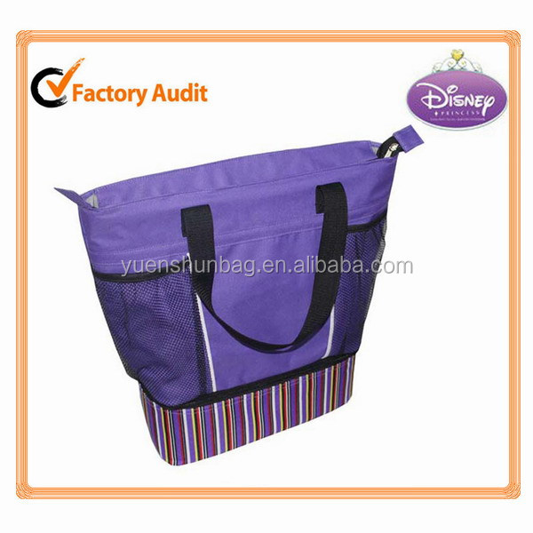 600D material insulated disposable cooler bag