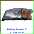 China Made Head Light Suitable for Scania RHD Truck R: 1732508 L: 1732507
